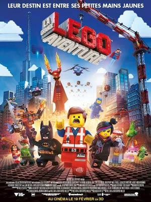 affiche du film La Grande Aventure Lego ( The Lego Movie )