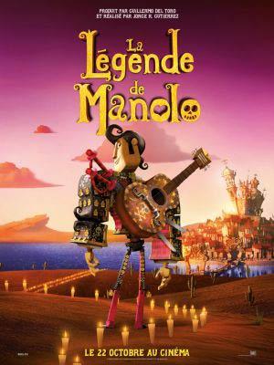 affiche du film La Légende de Manolo (Book of life)