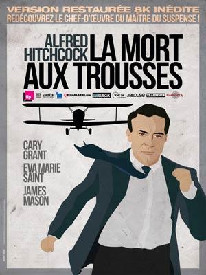 affiche du film La Mort aux trousses (1959)