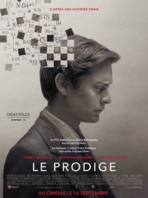 affiche du film Le Prodige (Pawn Sacrifice)