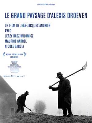 affiche du film Le Grand paysage d'Alexis Droeven (1981)