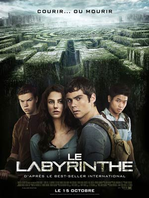 affiche du film Le Labyrinthe (The Maze runner)