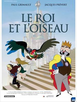 affiche du film Le Roi et l'oiseau - Film restauré - mars 1980