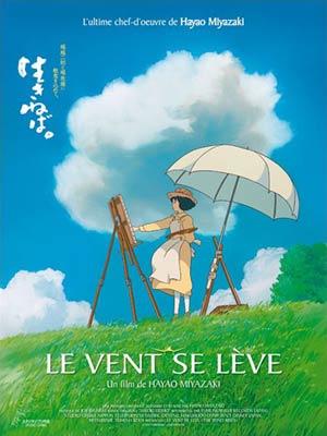 affiche du film Le vent se lève ( Kaze Tachinu )