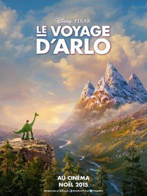 affiche du film Le Voyage d'Arlo (The Good Dinosaur)