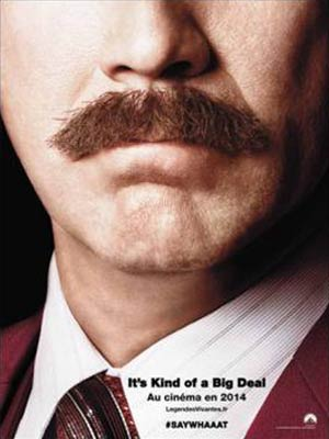 affiche du film Légendes Vivantes ( Anchorman: the Legend Continues )