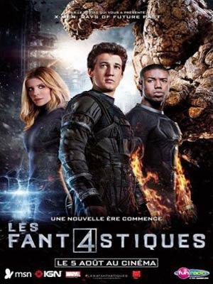 affiche du film LES FAN4STIQUES (Fantastic Four)