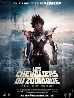 affiche du film Les Chevaliers du Zodiaque : La Légende du Sanctuaire