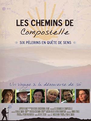 affiche du film Les Chemins de Compostelles
