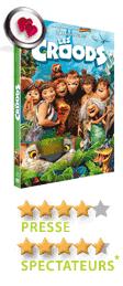 Les Croods de Chris Sanders et Kirk De Micco - En DVD, Blu-Ray et VOD