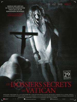 affiche du film Les Dossiers Secrets du Vatican