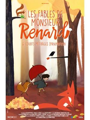 affiche du film Les Fables de Monsieur Renard