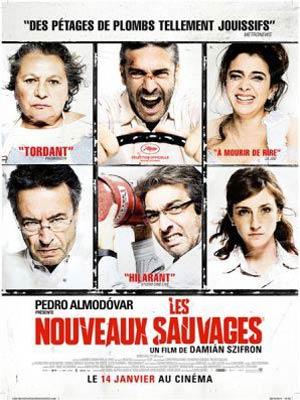 affiche du film Les nouveaux sauvages ( Relatos Salvajes )