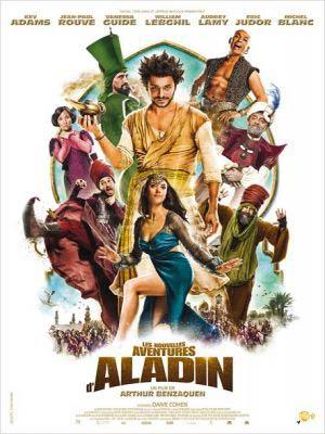 affiche du film Les Nouvelles Aventures d'Aladin