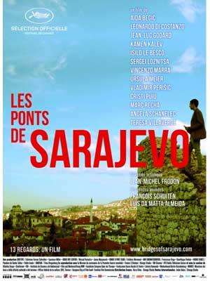 affiche du film Les Ponts de Sarajevo