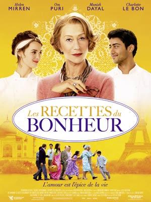 affiche du film Les Recettes du Bonheur (Hundred foot Journey)