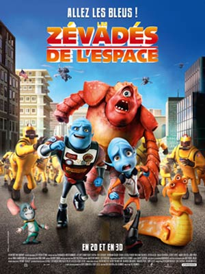 affiche du film Les Zévadés de l'Espace (Escape from Planet Earth)