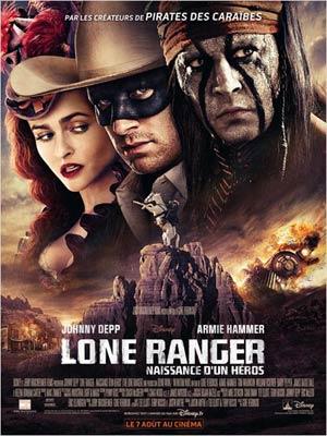 affiche du film Lone Ranger