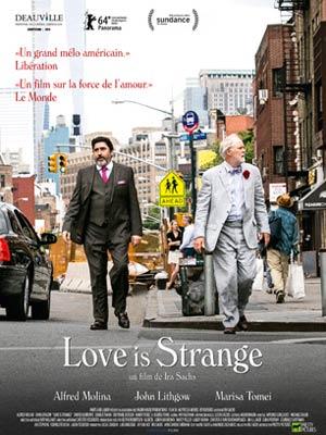 affiche du film Love is strange