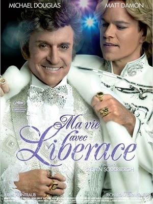affiche du film Ma vie avec Liberace (BEHIND THE CANDELABRA)