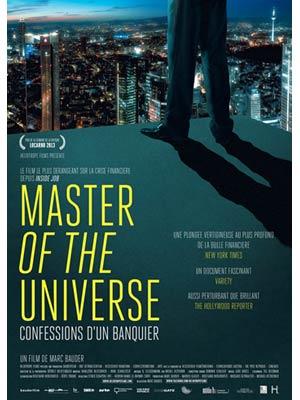 affiche du film Master of the Universe - confessions d'un banquier