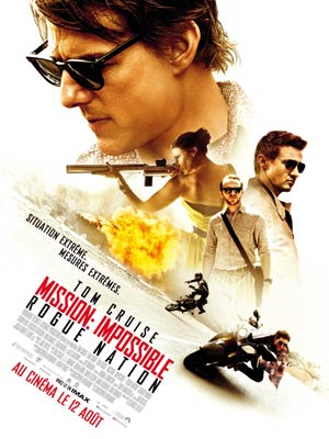 affiche du film Mission Impossible : Rogue Nation