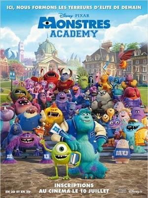 affiche du film Monstre Academy
