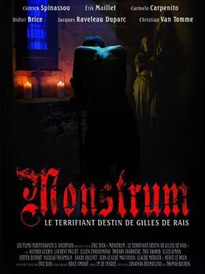 affiche du film Monstrum ou le terrifiant destin de Gilles de Rais