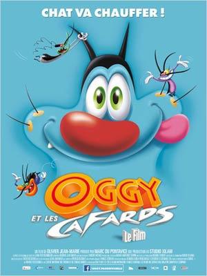 affiche du film Oggy et les cafards