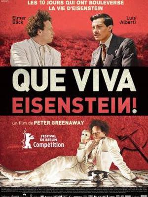 affiche du film Que Viva Eisenstein (Eisenstein in Guanajuato)