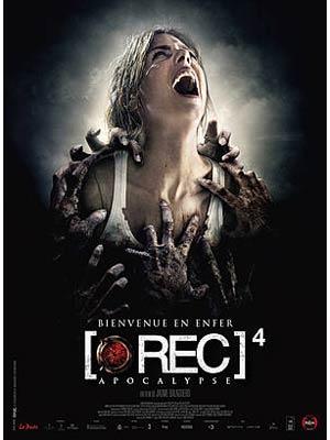 affiche du film [Rec] 4 : Apocalypse