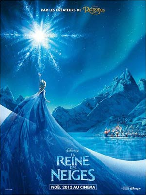 affiche du film La Reine des Neiges