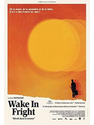 affiche du film Réveil dans la terreur ( Wake In Fright - 1971)
