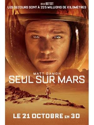 affiche du film Seul sur Mars (The Martian)