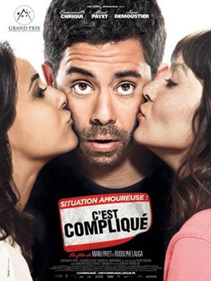 affiche du film Situation amoureuse : c'est compliqué