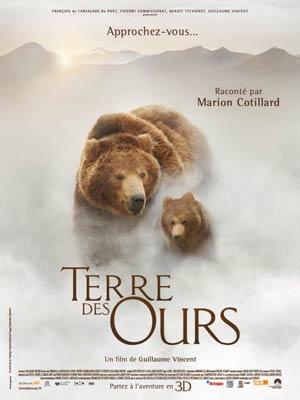 affiche du film Terre des Ours
