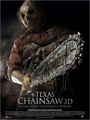 affiche du film Texas Chainsaw 3D