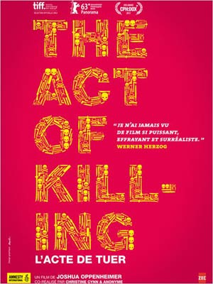 affiche du film The act of Killing