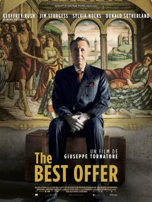 affiche du film The Best Offer