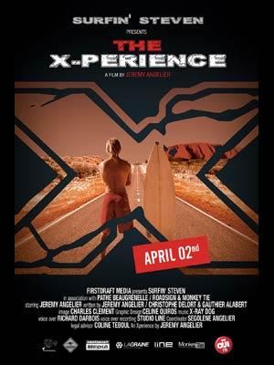 affiche du film Surfin'Steven présente The X-perience