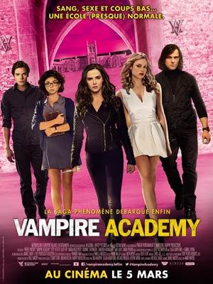 affiche du film Vampire Academy
