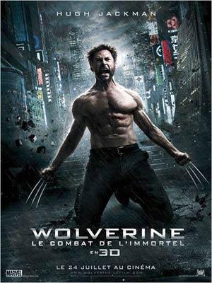 affiche du film Wolverine : le combat immortel