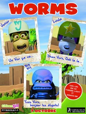 affiche du film Worms (Minhocas)